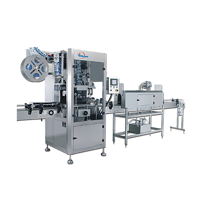 AUTOMATIC SLEEVE LABELING MACHINERY