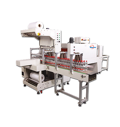 AUTOMATIC SLEEVE SEALING & SHRINK PACKAGING MACHINERY
