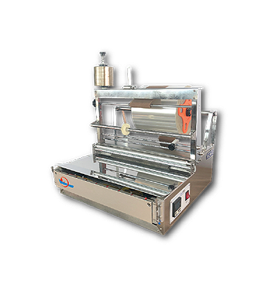 SEMI-AUTOMATIC 3D WRAPPING MACHINERY