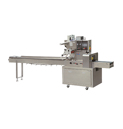 ROTARY PILLOW TYPE PACKAGING MACHINERY (UP-FILM)
