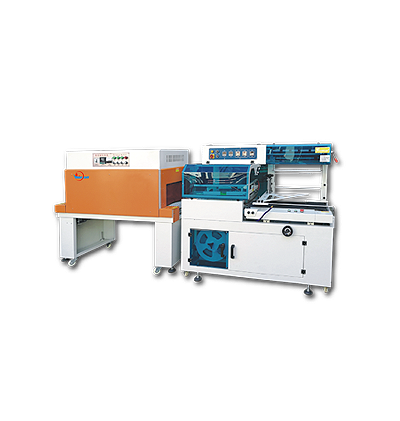 AUTOMATIC L-BAR SEALING & SHRINK PACKAGING MACHINERY